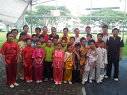 Wushu photo with Minister of Education Mr Heng Swee Keat