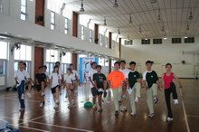 Temasek Junior College Wushu Dance