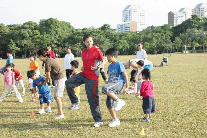 Wushu Fun Play at Botanic Garden